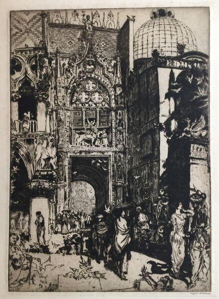 Clifford Isaac Addams, 'Porta della Carta, Venice', ca. 1914