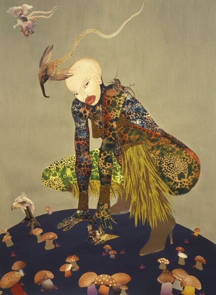 Wangechi Mutu, 'Riding Death in My Sleep', 2002