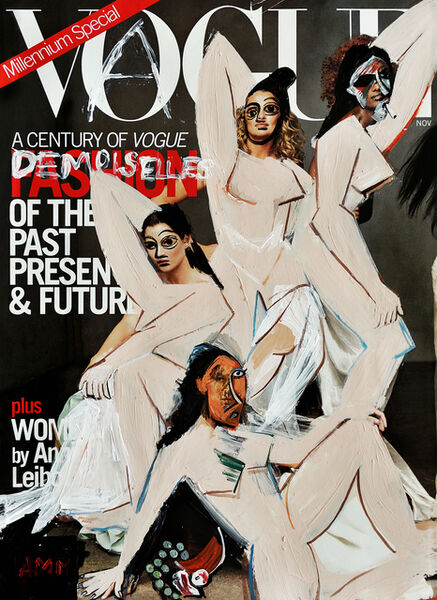 Andrea Mary Marshall, 'THE DEMOISELLES D'AVIGNON ISSUE'