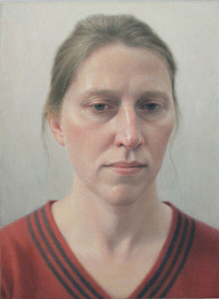 Robert Bauer, 'Erica in a Red Sweater', 2012