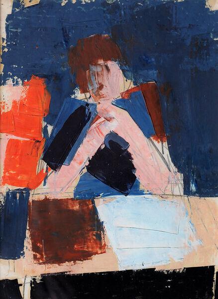 Peter Kinley, 'Portrait of Monica', ca. 1962