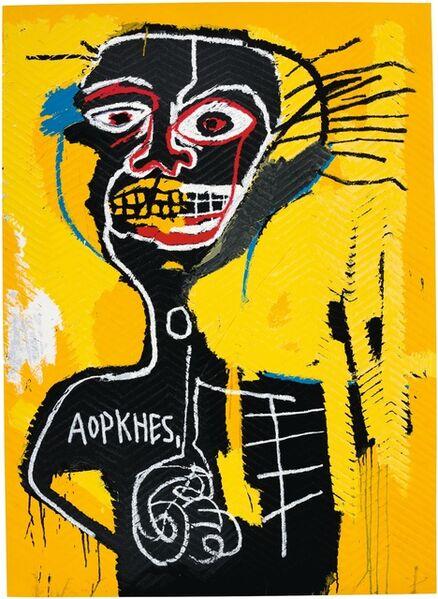 Jean-Michel Basquiat, 'Cabeza', 2005