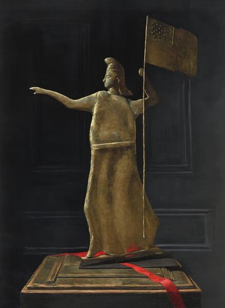 Sarah Lamb, 'Goddess of Liberty Weathervane', 2018