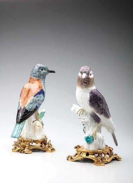 Berlin Porcelain Factory, 'Pair of rollers', ca. 1765