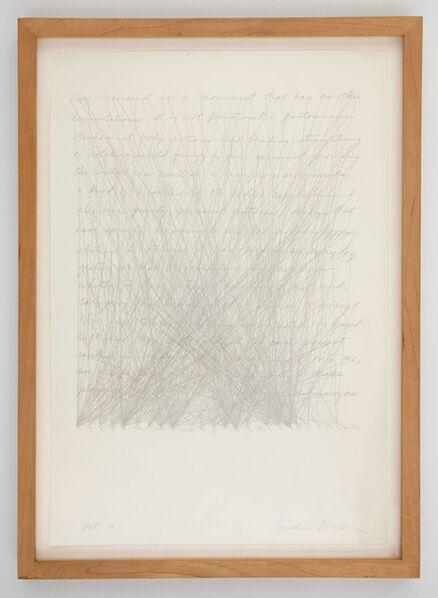 Trisha Brown, 'Untitled (Locus)', 1976