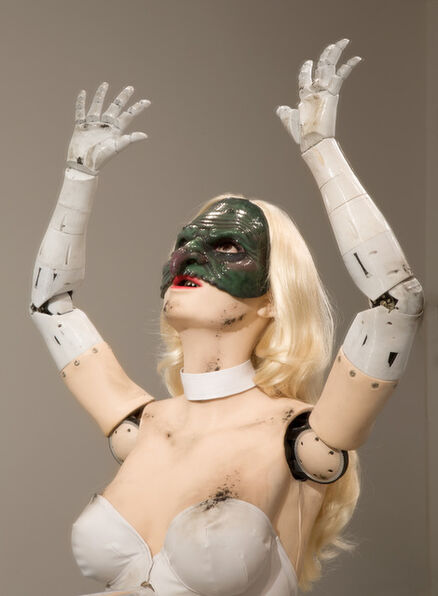 Jordan Wolfson (b.1980), '(Female Figure) 2014', 2014