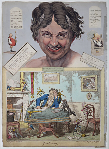 George Cruikshank, 'Jealousy', 1823