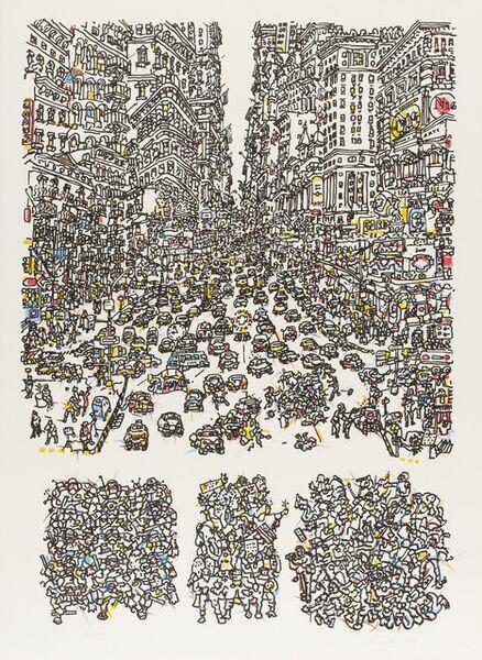 Costantino Nivola, 'City', 1975
