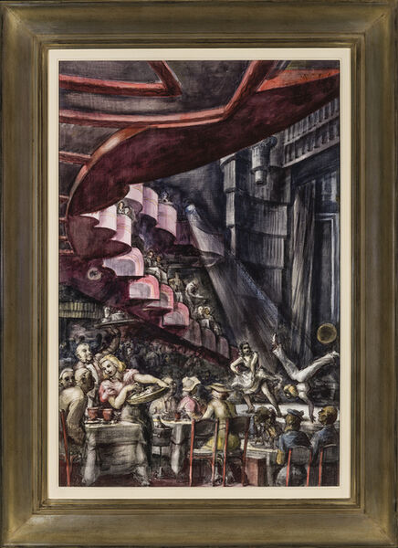 Reginald Marsh, 'Cabaret', 1938