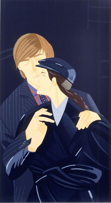 Alex Katz, 'Pas de Deux II', 1994, Print, Hand-signed serigraph, Martin Lawrence Galleries