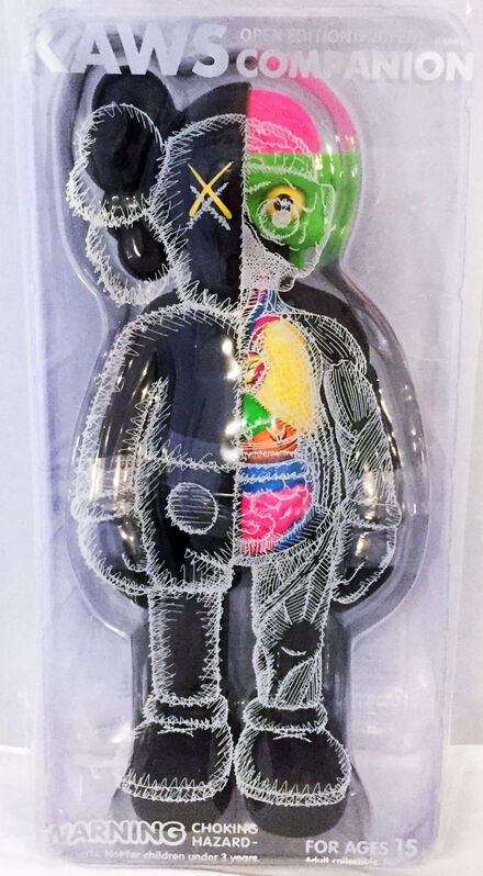 KAWS, 'KAWS Flayed Companions 2016: set of 2 (KAWS brown black flayed)', 2016, Sculpture, Painted Vinyl  Cast Resin Figure, Lot 180