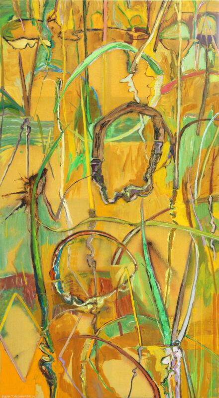 David Alexander, 'An Unimportant Garden', 2016, Painting, Acrylic on Canvas, Bau-Xi Gallery