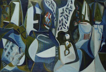 Olivier Debré, 'Les musiciens', 1948
