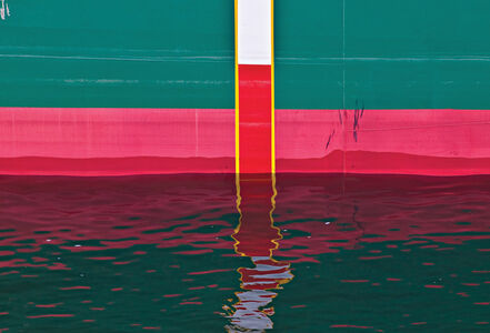 Lou Vest, 'Ship Hull Abstract', 2008 -Printed 2018