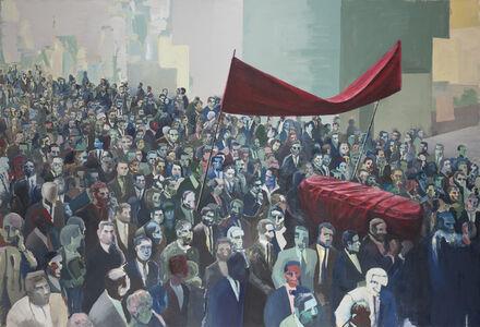 Iosu Aramburu, 'Funeral procession', 2019