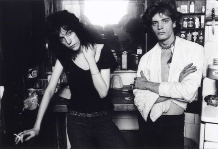 Norman Seeff, 'Robert Mapplethorpe and Patti Smith, New York City (Patti with Cigarette)', 1969