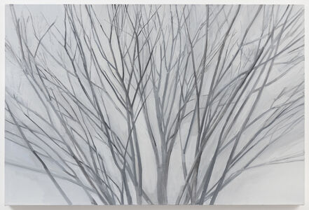 Sylvia Plimack Mangold, 'Winter Maple 2017', 2017