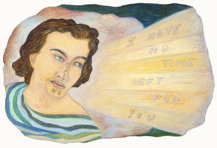 Vito Desalvo, 'I Have No Time Left For You Means No'