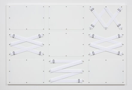 Joshua Saunders, 'Nine Panel White', 2017