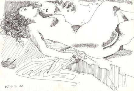 Charles Blackman, 'Reclining Nudes', 1971