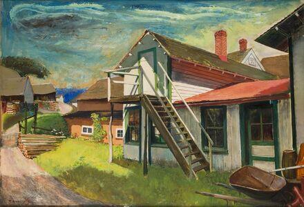 Ture Bengtz, 'The Backroad, Long Island', ca. 1940
