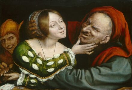 Quentin Metsys (Quinten Massys), 'Ill-Matched Lovers', ca. 1520/1525