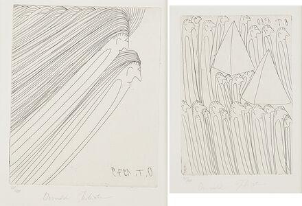 Oswald Tschirtner, 'Two works of art'