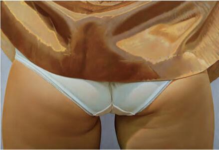John Kacere, 'Untitled (with White Slip)', 1971