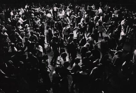 George Rodger, 'Student dance, Leicester, UK', 1963