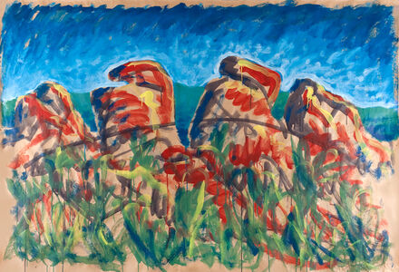 Adolfo Schlosser, 'Paisaje rocoso', 1984