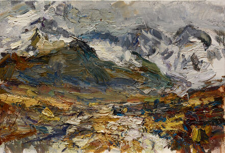 Ulrich Gleiter, 'Clouds Lifting, High Mountains', 2017