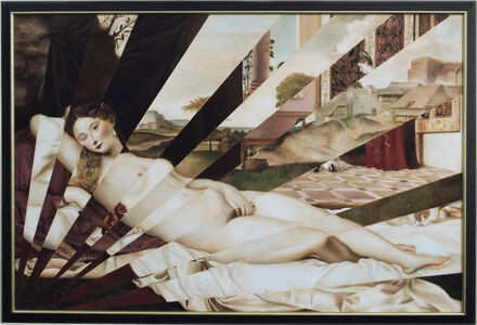 Masha Gusova, 'Two Venuses (after Giorgione and Titian)', 2018