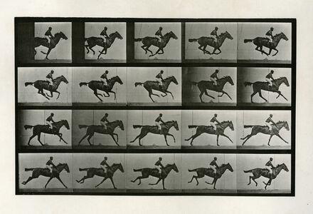 Eadweard Muybridge, 'Human and Animal Locomotion, Plate 627: Jockey on a Galloping Horse', 1887