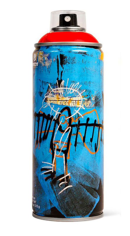 Jean-Michel Basquiat, 'Limited edition Basquiat spray paint can', 2018, Ephemera or Merchandise, Offset lithograph on metal spray paint can, Lot 180