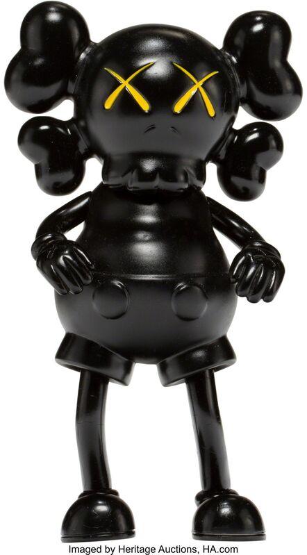 KAWS, 'Companion (Black)', 1999, Sculpture, Painted cast vinyl, Heritage Auctions