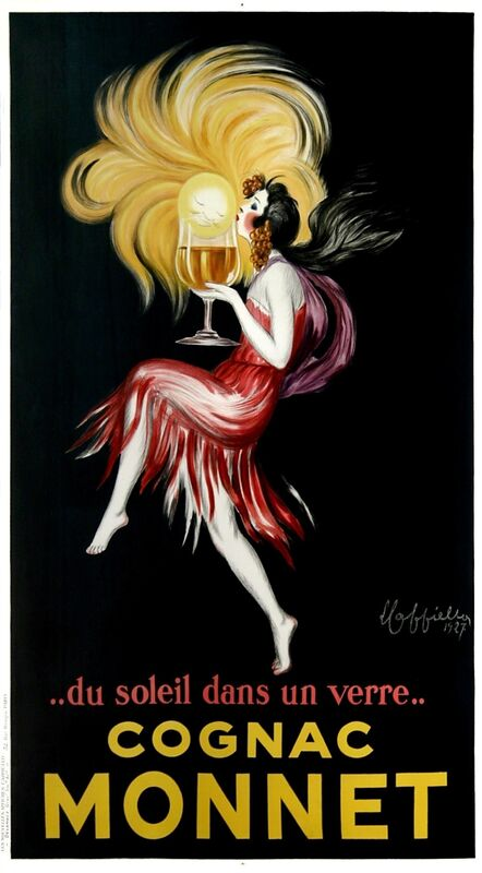 Leonetto Cappiello, 'Cognac Monnet', 1927, Posters, Vintage lithograph poster, Addicted Art Gallery