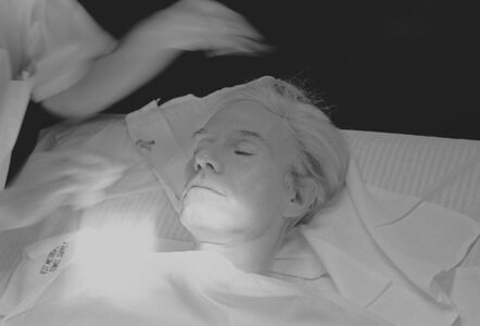 Robert Levin, 'Andy Warhol Getting Facial Treatment 1981', 2015