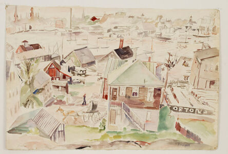 Theresa Bernstein, 'Gloucester Reminder', 1924