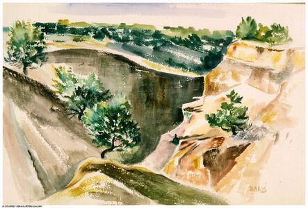 Jozef Bakos, 'Canyon Entrance', 20th Century