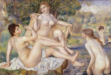 Pierre-Auguste Renoir, 'The Large Bathers', 1884-1887