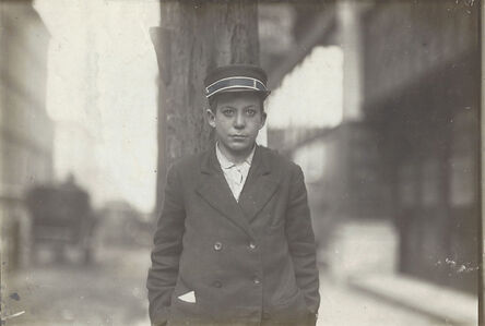 Lewis Wickes Hine, 'Untitled (Child from the Hull House, Chicago)', ca. 1910