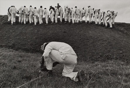 Danny Lyon, 'The Hoe Sharpener, Texas', 1967