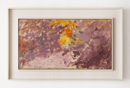 Pat Passlof, 'Untitled', 1962