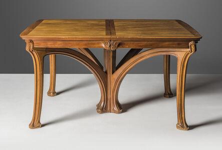 Eugene Gaillard, 'An extending dining table', circa 1904