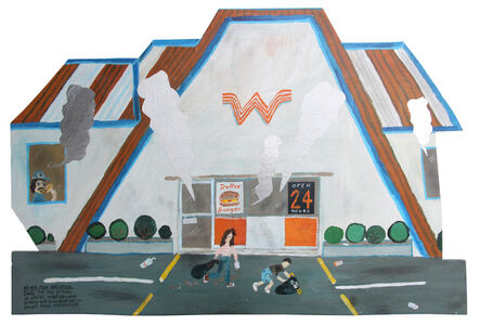 Esther Pearl Watson, 'Never Stop Dreaming Whataburger', 2017