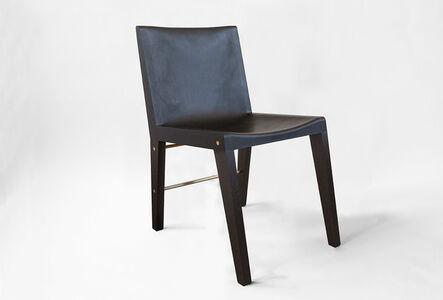 Asher Israelow, 'Lincoln Chair - Gotham Finish', 2012