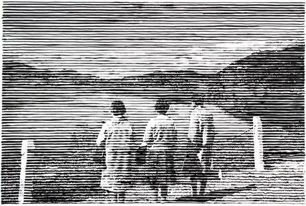 Charles Buckley, 'Three Women', 2019