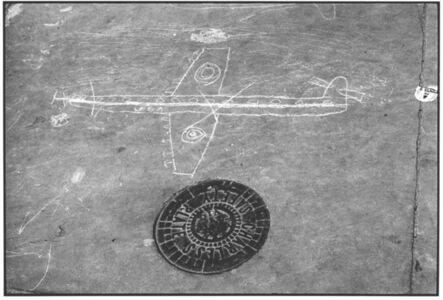 John 'Hoppy' Hopkins, 'Graffiti Airplane, West London', ca. 1963