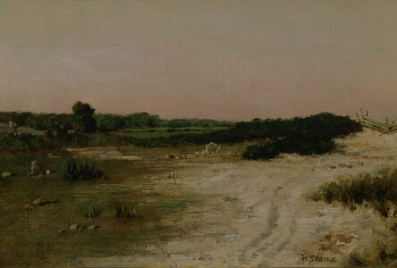 William Sartain, 'Road to the Shore', ca. 1885