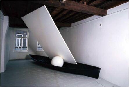 Claudio Parmiggiani, 'Omaggio del sole e della luna alla luce'